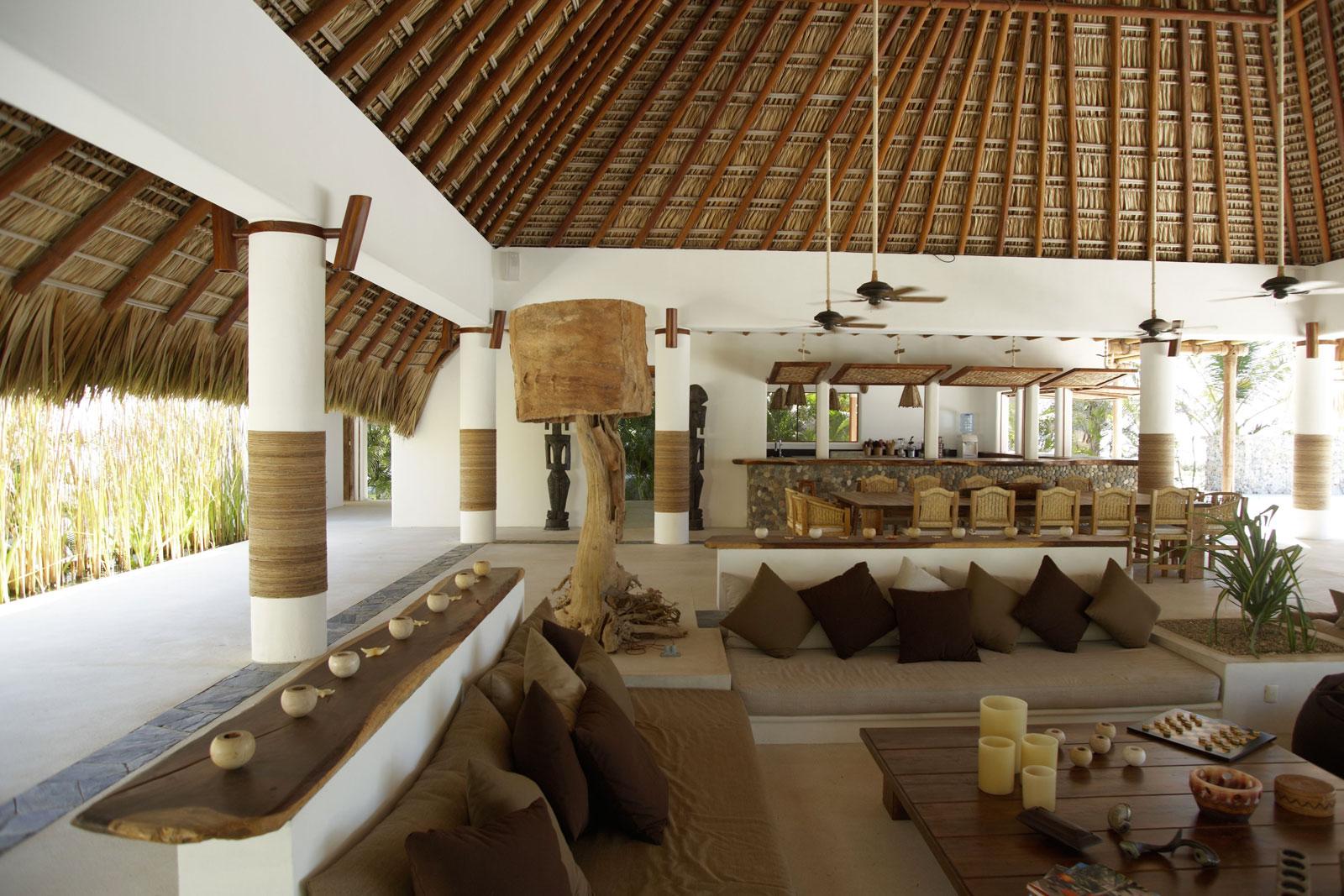 Palapa casa inspiracion - Casas de campo interiores ...